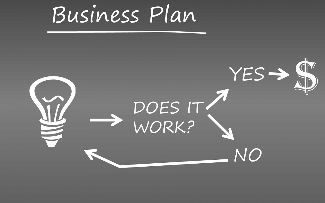 It starts with a business plan