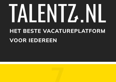 Schrijf je gratis in bij TalentZ
